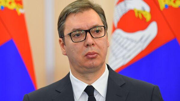 Aleksandar Vucic, presidente serbio - Sputnik Mundo