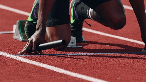 Una atleta. Imagen referencial - Sputnik Mundo