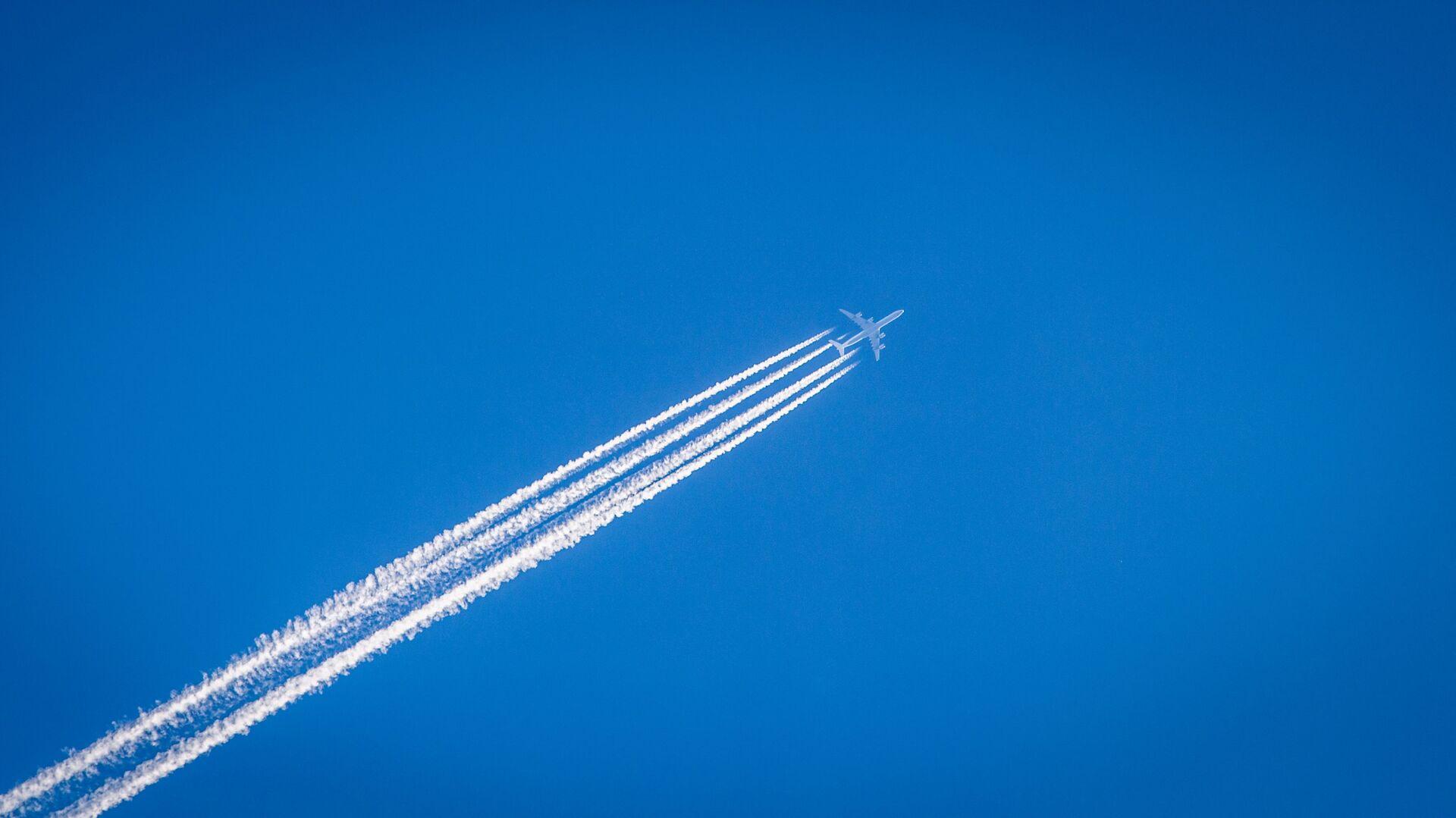Un avión (imagen referencial) - Sputnik Mundo, 1920, 04.02.2021