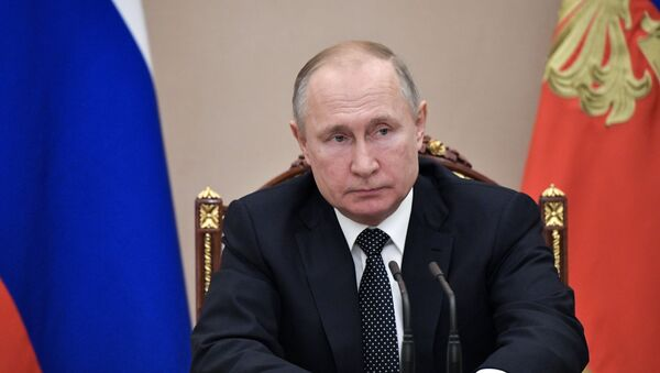 Vladímir Putin, el presidente ruso - Sputnik Mundo
