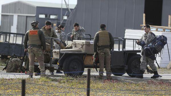 Búsqueda del avión Hércules C-130 de la Fuerza Aérea de Chile (FACH) - Sputnik Mundo