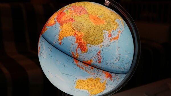 Mapa de Asia y Oceanía - Sputnik Mundo