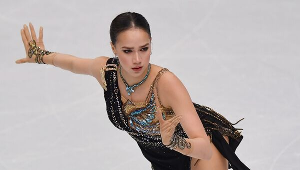 Alina Zaguítova, patinadora rusa  - Sputnik Mundo