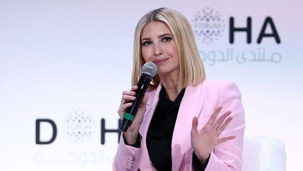Ivanka Trump, asesora y hija del presidente de Estados Unidos, en el Foro de Doha - Sputnik Mundo
