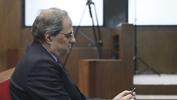 Quim Torra, el presidente catalán - Sputnik Mundo