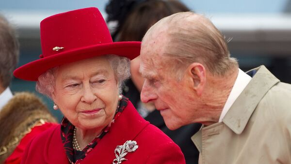 Felipe, el esposo de la reina Isabel II del Reino Unido - Sputnik Mundo