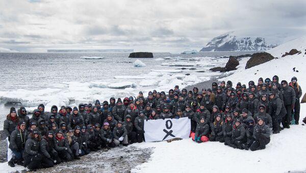 Grupo completo de la expedición de Homeward Bound - Sputnik Mundo
