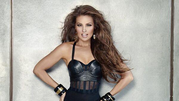Thalía, cantante mexicana  - Sputnik Mundo