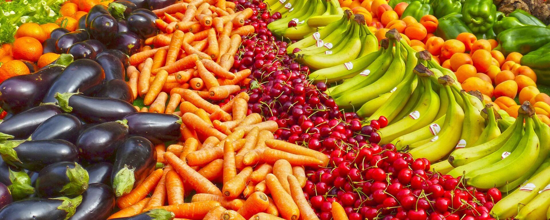 Frutas y hortalizas (imagen referencial) - Sputnik Mundo, 1920, 02.03.2021