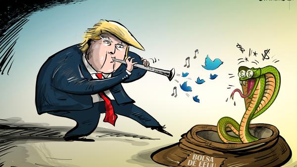 Donald Trump, el 'encantador' de la bolsa de Wall Street - Sputnik Mundo