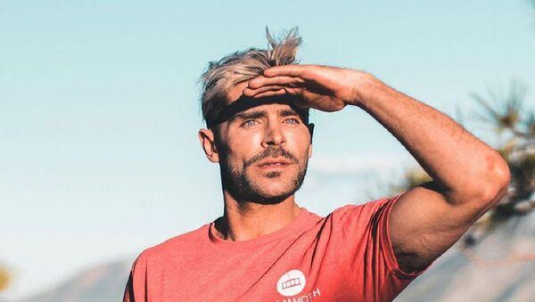 Zac Efron, actor estadounidense - Sputnik Mundo