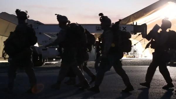 EEUU refuerza la defensa de su Embajada en Irak con helicópteros Apache - Sputnik Mundo