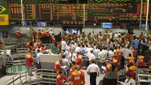 La bolsa de valores de Sao Paulo (Bovespa) - Sputnik Mundo