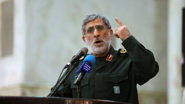 El brigadier general Esmail Ghaani - Sputnik Mundo