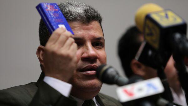 Luis Parra, presidente de la Asamblea Nacional de Venezuela - Sputnik Mundo