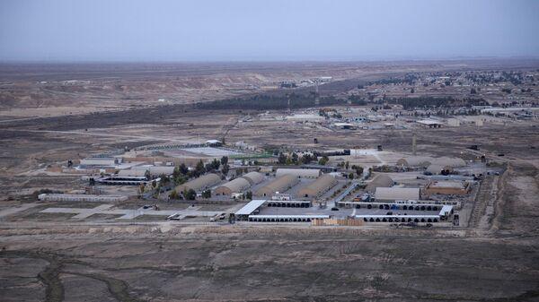 La base estadounidense Ain al Asad en Irak (archivo) - Sputnik Mundo