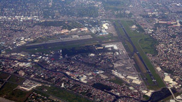 El Aeropuerto internacional de Manila - Sputnik Mundo