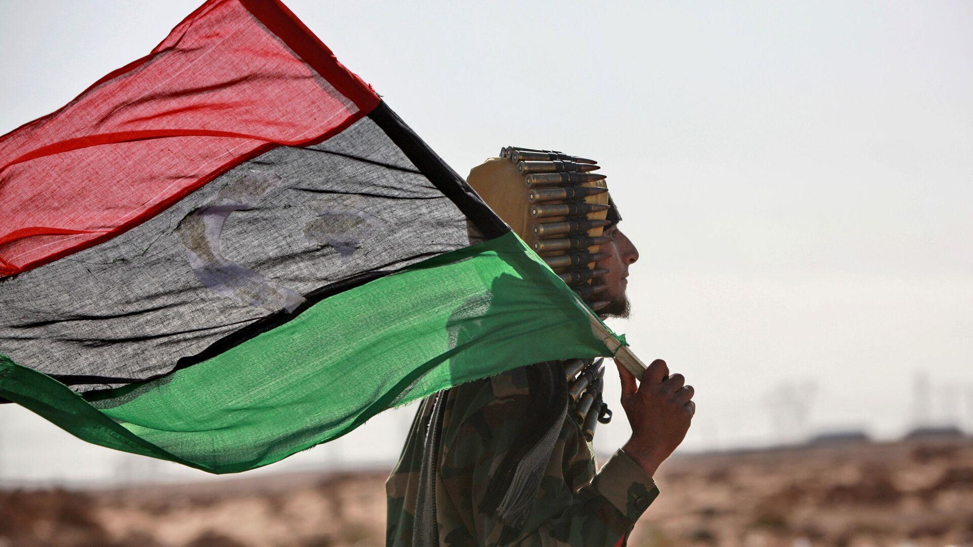 La bandera de Libia - Sputnik Mundo, 1920, 05.10.2021