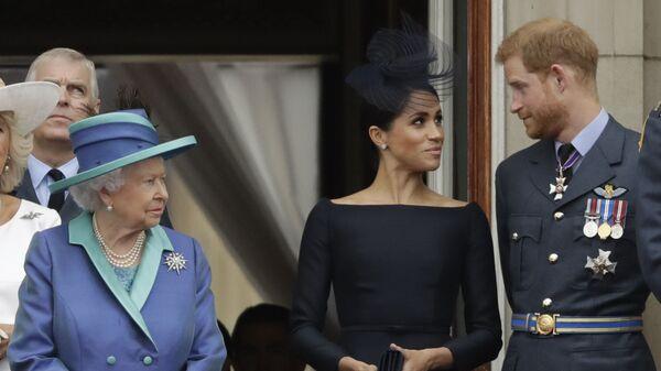 La familia real británica - Sputnik Mundo