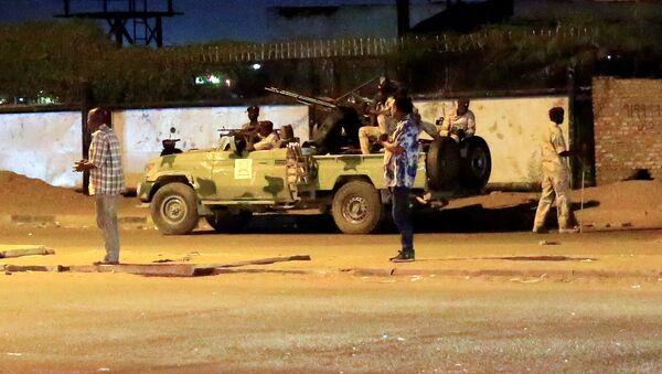 Militares de Sudán en Jartum - Sputnik Mundo