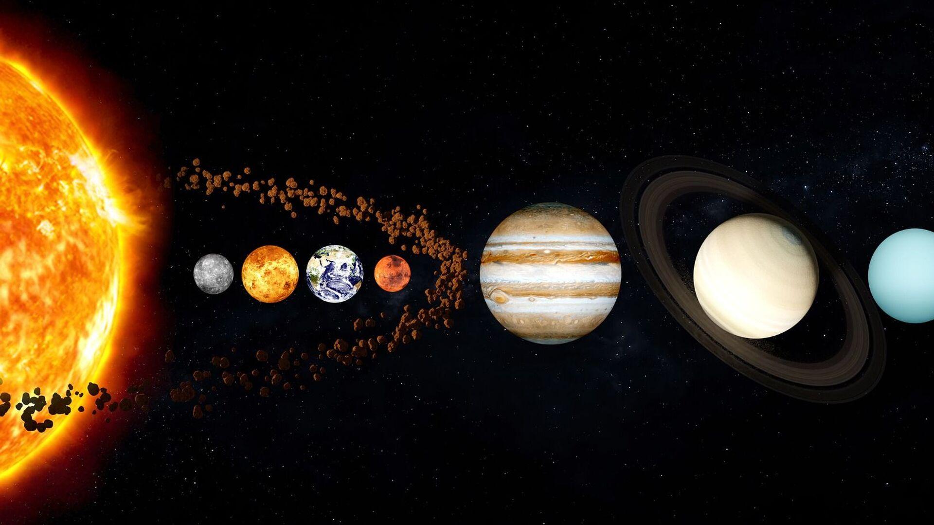 El sistema solar // Pixabay - Sputnik Mundo, 1920, 25.09.2021