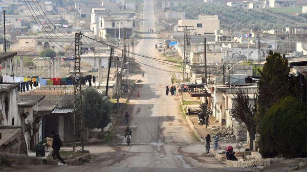 La situación en Idlib, Siria (archivo) - Sputnik Mundo