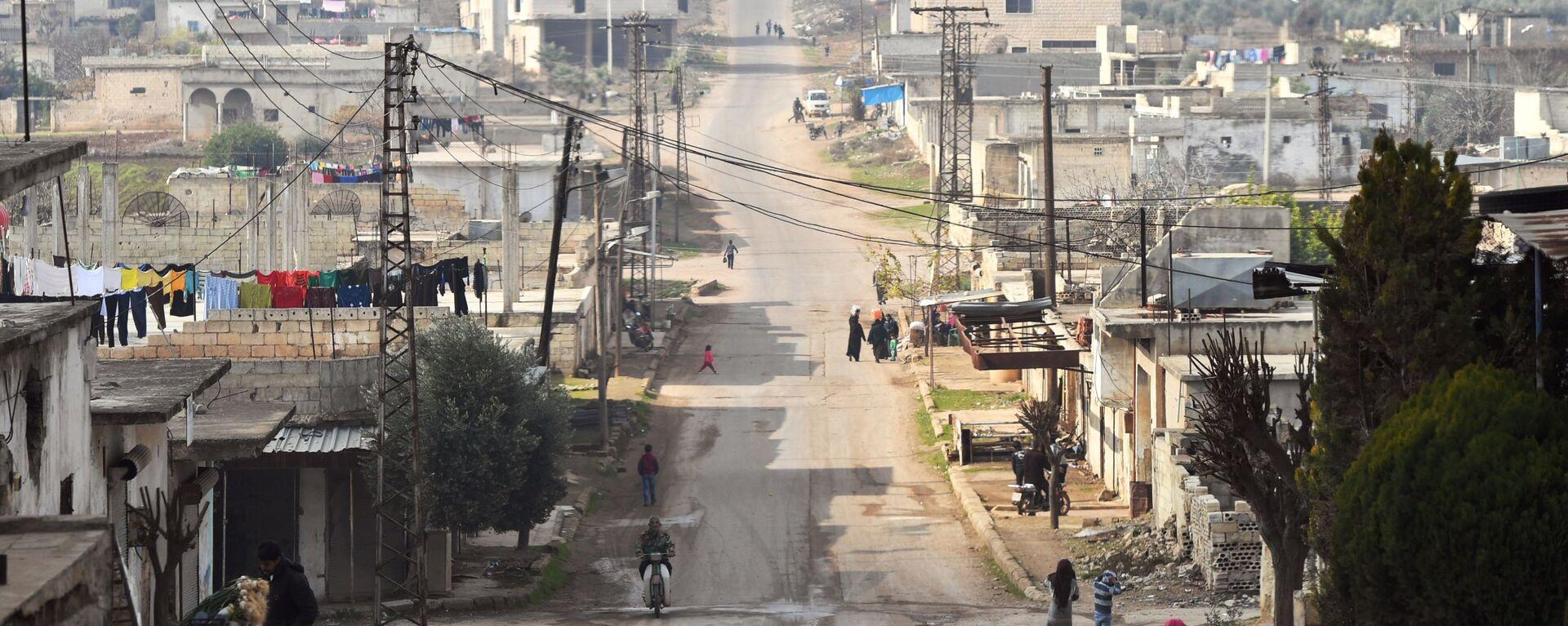 La situación en Idlib, Siria (archivo) - Sputnik Mundo, 1920, 28.12.2020