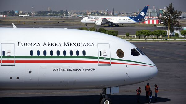 El avión presidencial de México - Sputnik Mundo