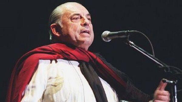 Juan Carlos Saravia, líder y fundador del grupo musical folclórico argentino Los Chalchaleros - Sputnik Mundo