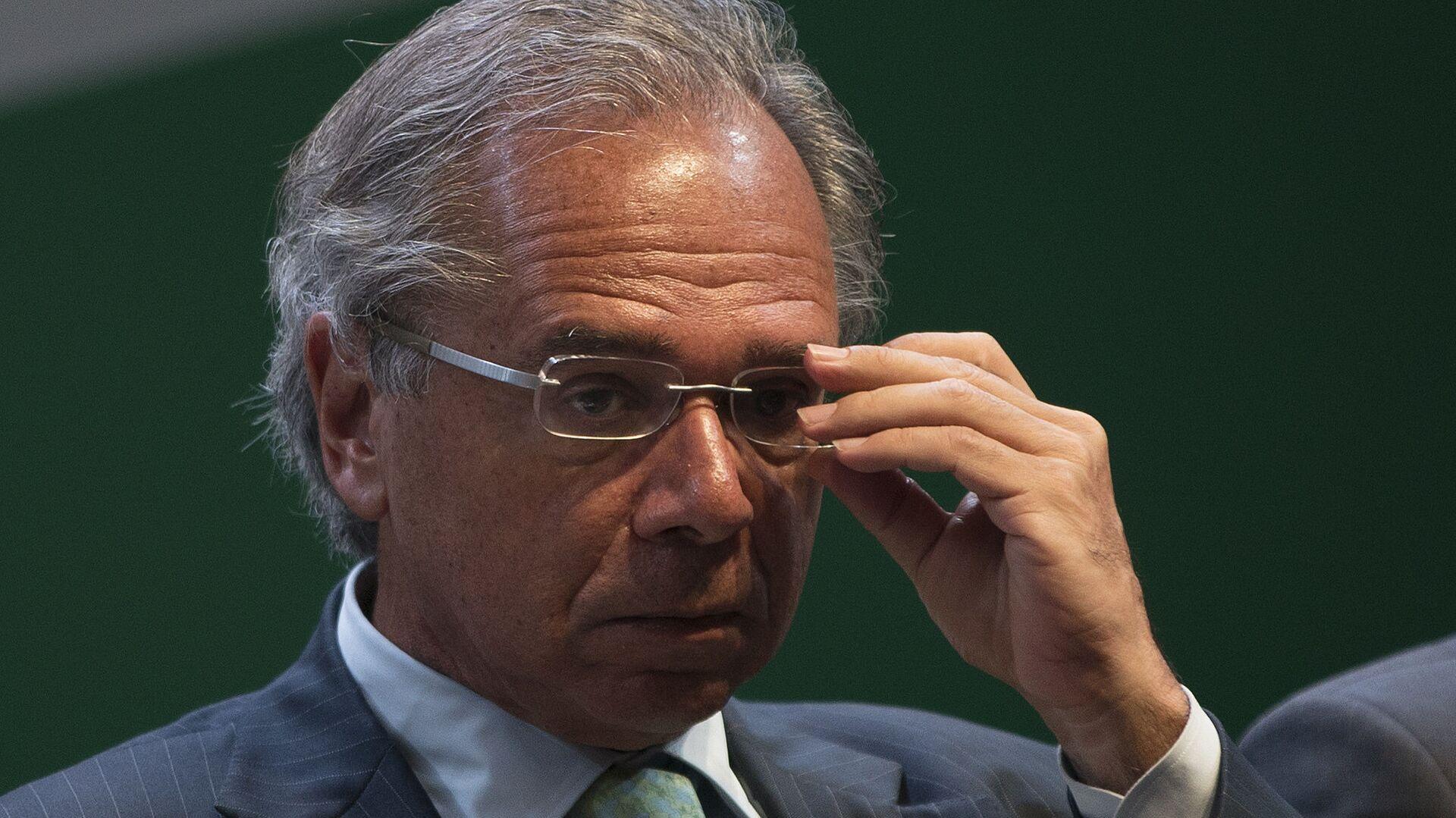 Paulo Guedes, el ministro de Economía de Brasil  - Sputnik Mundo, 1920, 07.10.2021