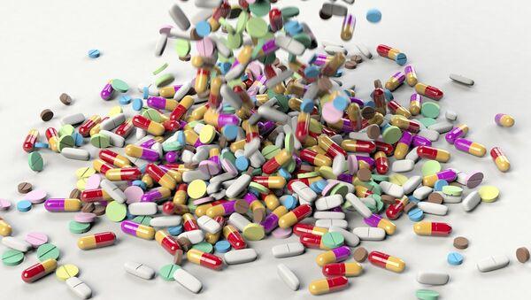 Medicamentos, imagen referencial - Sputnik Mundo