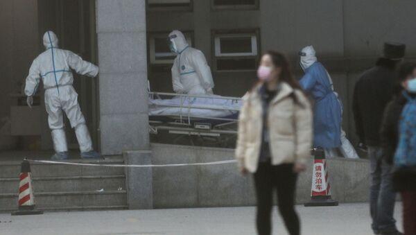 Médicos chinos - Sputnik Mundo