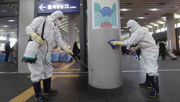 La situación en Corea del Sur  - Sputnik Mundo