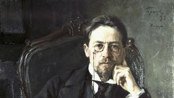 Retrato del dramaturgo ruso Antón Chéjov - Sputnik Mundo