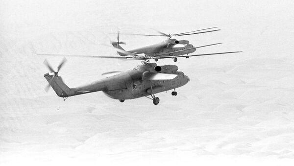 Los helicópteros Mi-6 - Sputnik Mundo