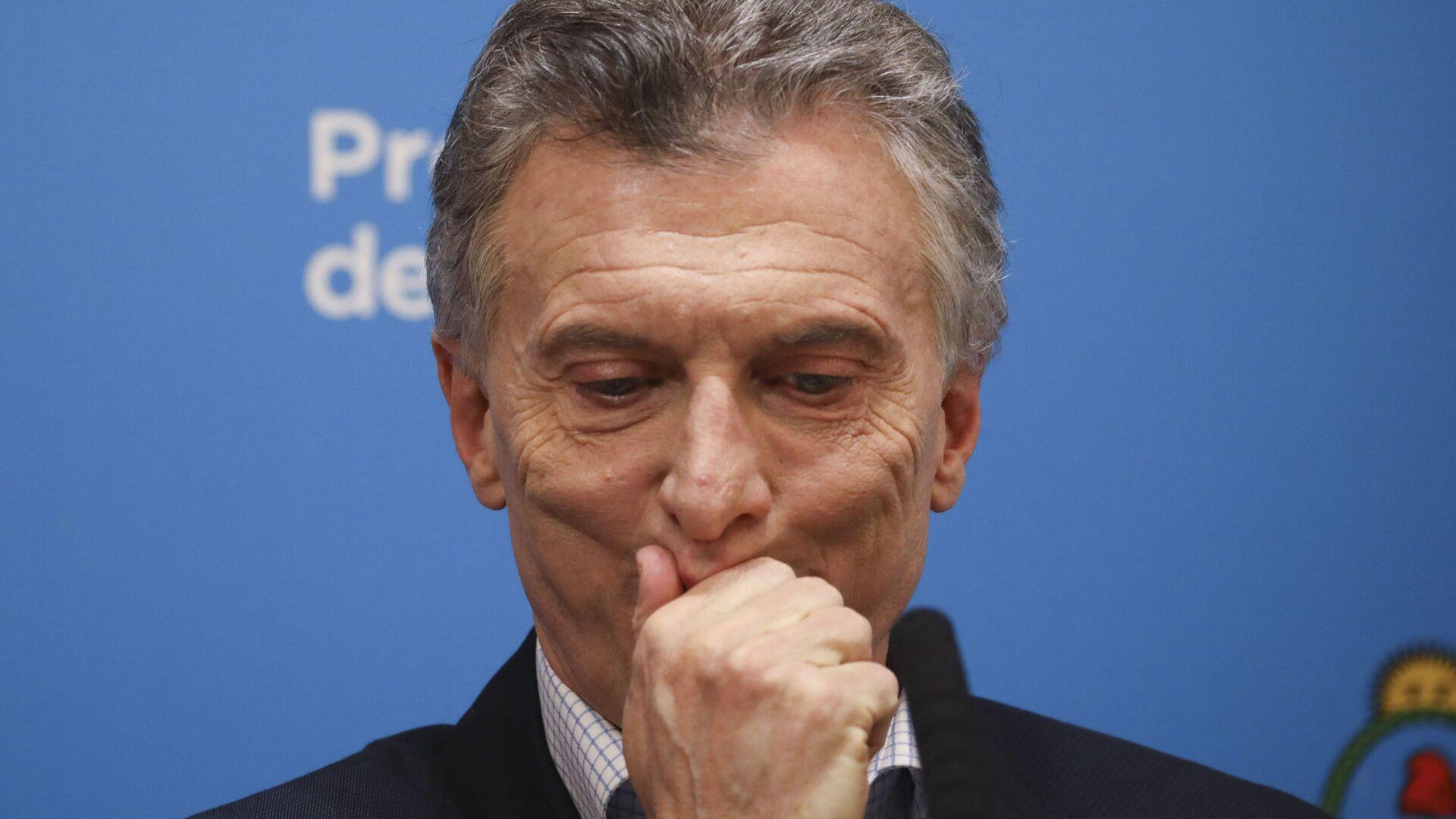 Mauricio Macri, expresidente de Argentina - Sputnik Mundo, 1920, 01.10.2021