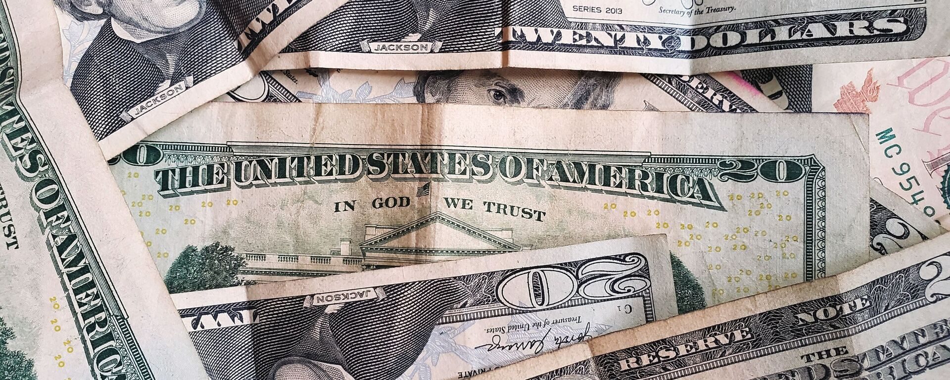 Dólares estadounidenses (imagen referencial) - Sputnik Mundo, 1920, 21.06.2021