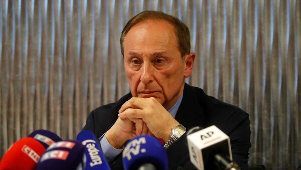 Didier Gailhaguet, jefe de la Federación francesa de Patinaje - Sputnik Mundo