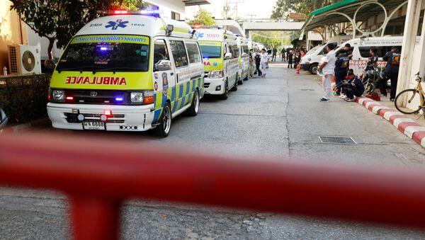 Ambulancia en Tailandia (archivo) - Sputnik Mundo
