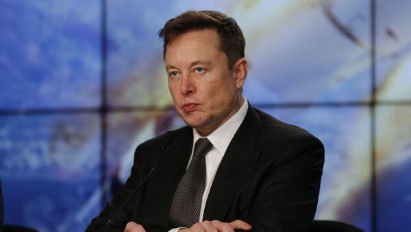 Elon Musk, empresario estadounidense (archivo) - Sputnik Mundo