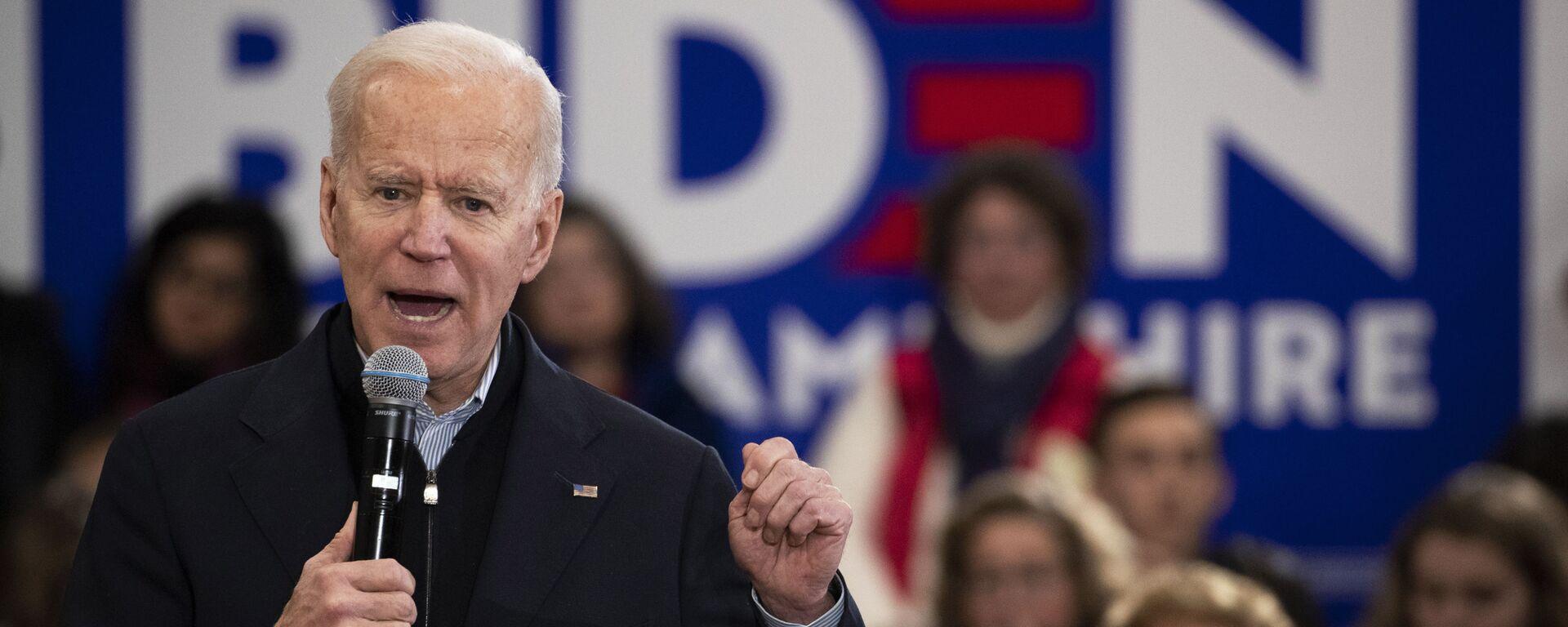 Joe Biden, el presidente de EEUU  - Sputnik Mundo, 1920, 18.03.2021