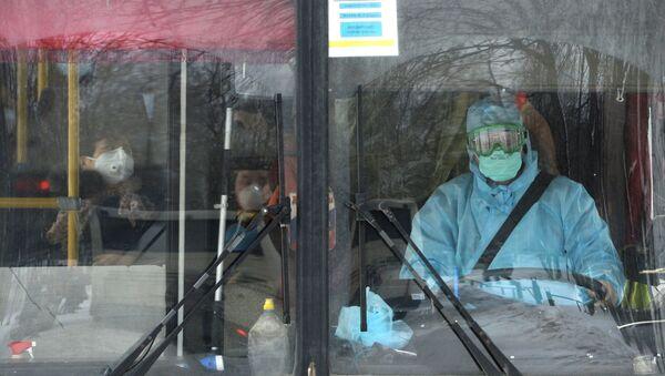Autobús en la ciudad de Ekaterimburgo - Sputnik Mundo
