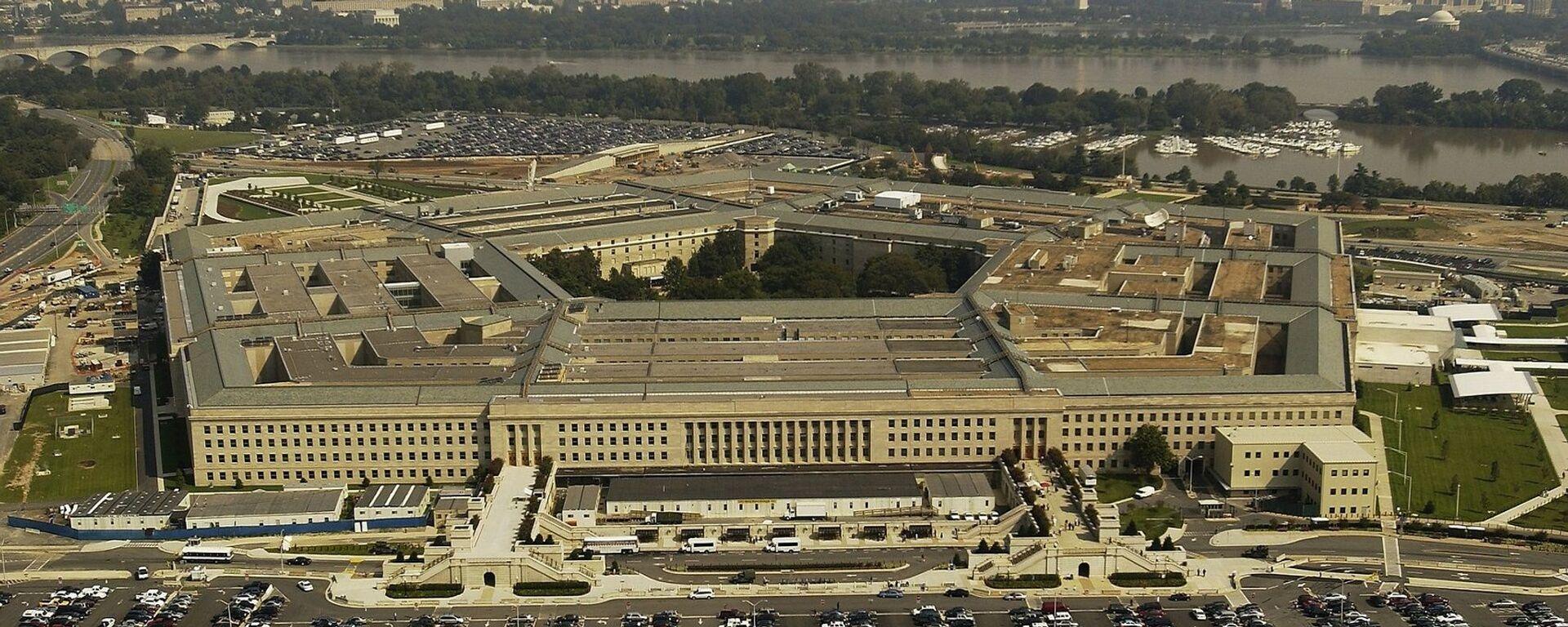 El Pentágono o Departamento de Defensa de Estados Unidos - Sputnik Mundo, 1920, 30.09.2021