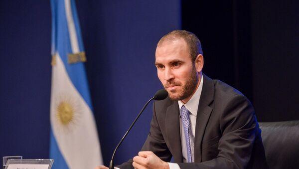 Martín Guzmán, ministro argentino de Economía - Sputnik Mundo