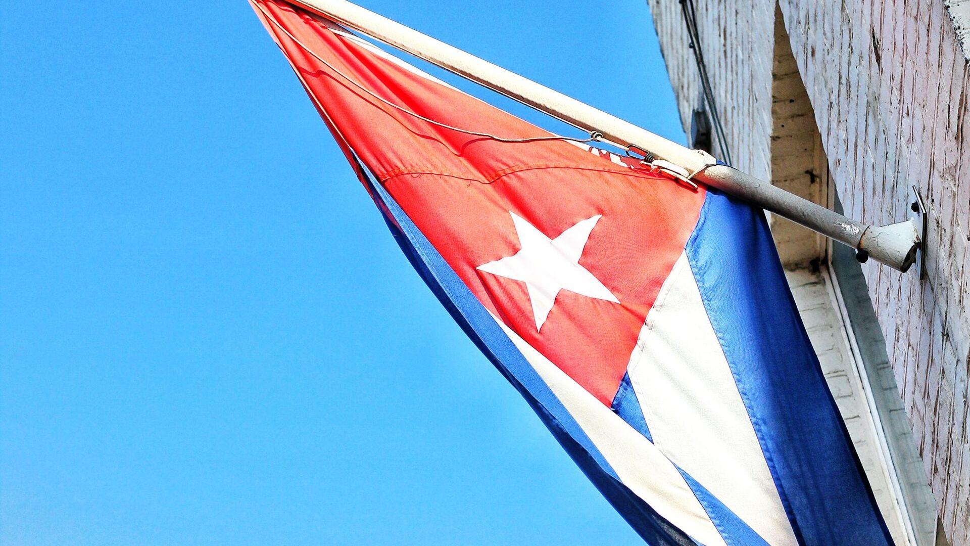 La bandera de Cuba - Sputnik Mundo, 1920, 06.10.2021