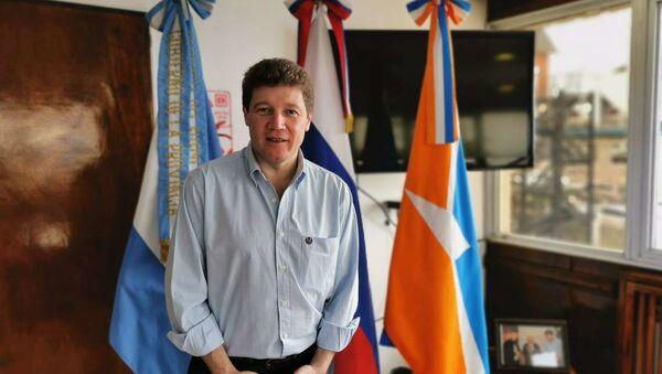 El gobernador de la provincia de Tierra del Fuego Gustavo Melella - Sputnik Mundo