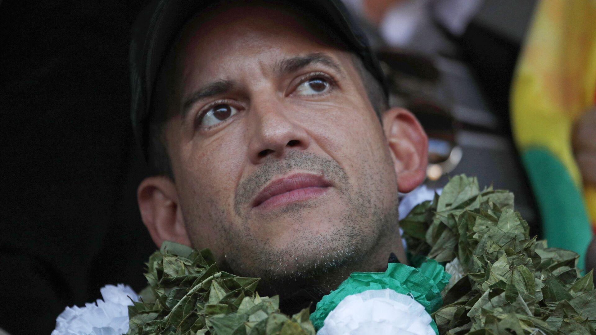 Luis Fernando Camacho, líder cívico boliviano - Sputnik Mundo, 1920, 24.09.2021