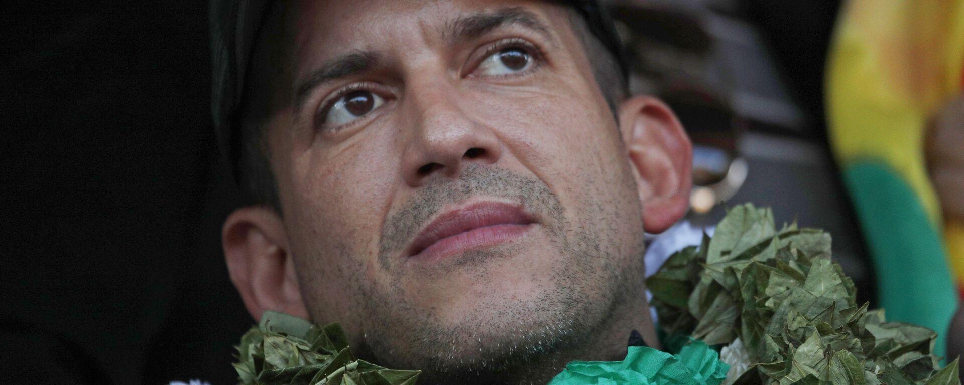 Luis Fernando Camacho, líder cívico boliviano - Sputnik Mundo, 1920, 29.09.2021