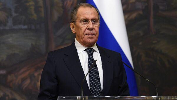 Serguéi Lavrov, canciller de la Federación de Rusia - Sputnik Mundo