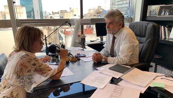 Telma Luzzani habla con el embajador argentino Daniel Filmus - Sputnik Mundo